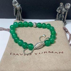 David Yurman Spiritual Bead With Green Onyx